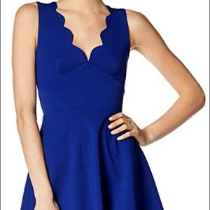 🆕 Love Ady Large Navy Blue Dress NWT